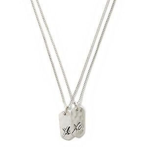 Banana Republic XO Necklace